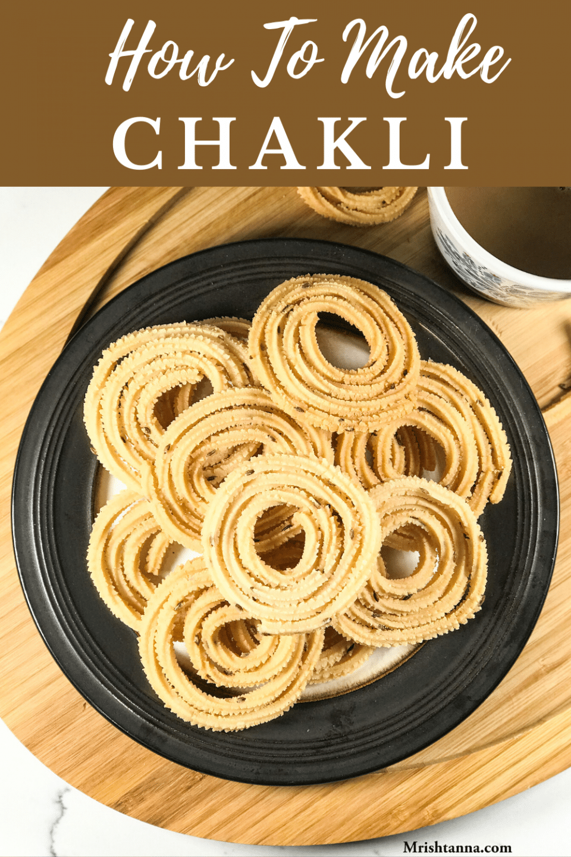 How To Make Chakli - Urad Dal Murukku
