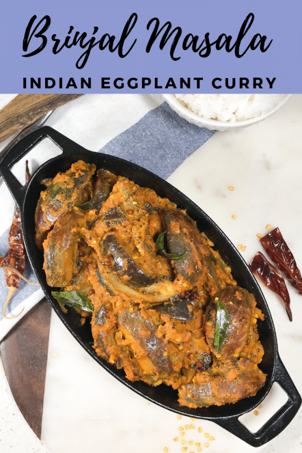 Brinjal Masala Curry | Best Eggplant Curry