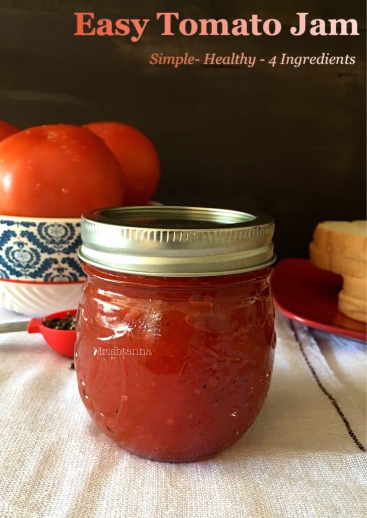 Easy Tomato Jam