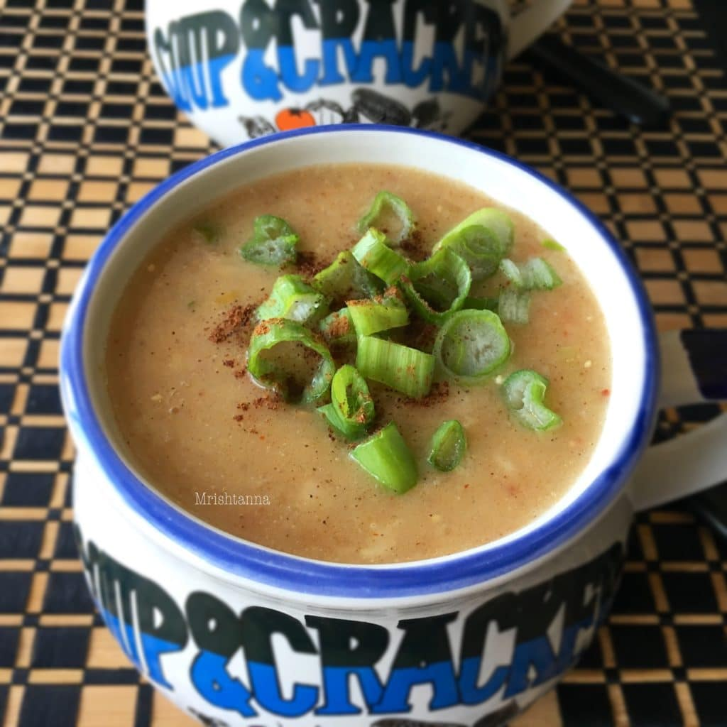 Heart healthy Oatmeal Soup