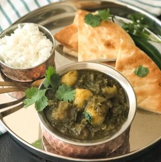 Aloo Palak Curry