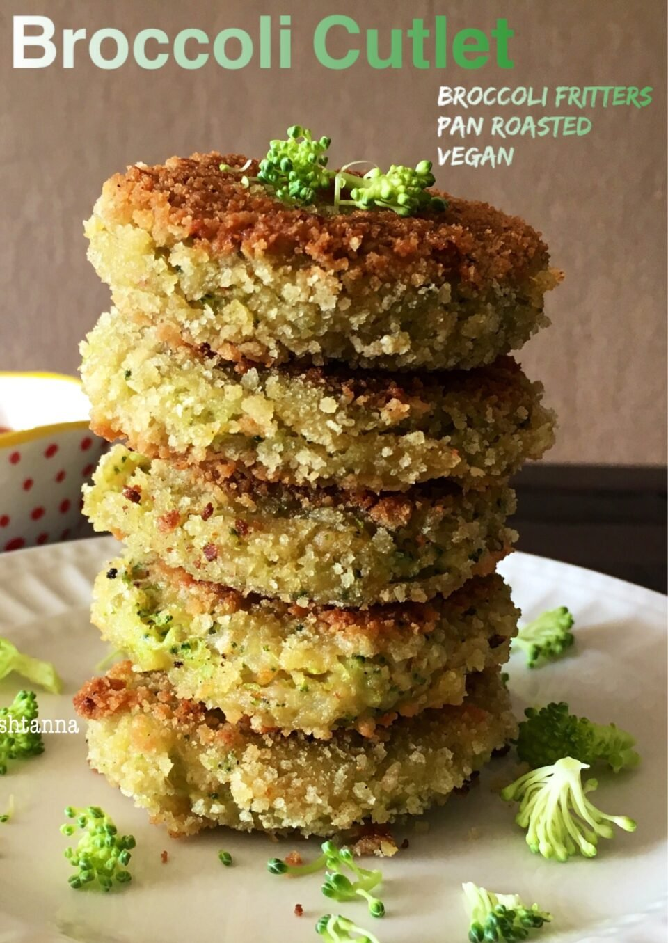 A Broccoli Recipe Kids Will Love - Broccoli Cutlets