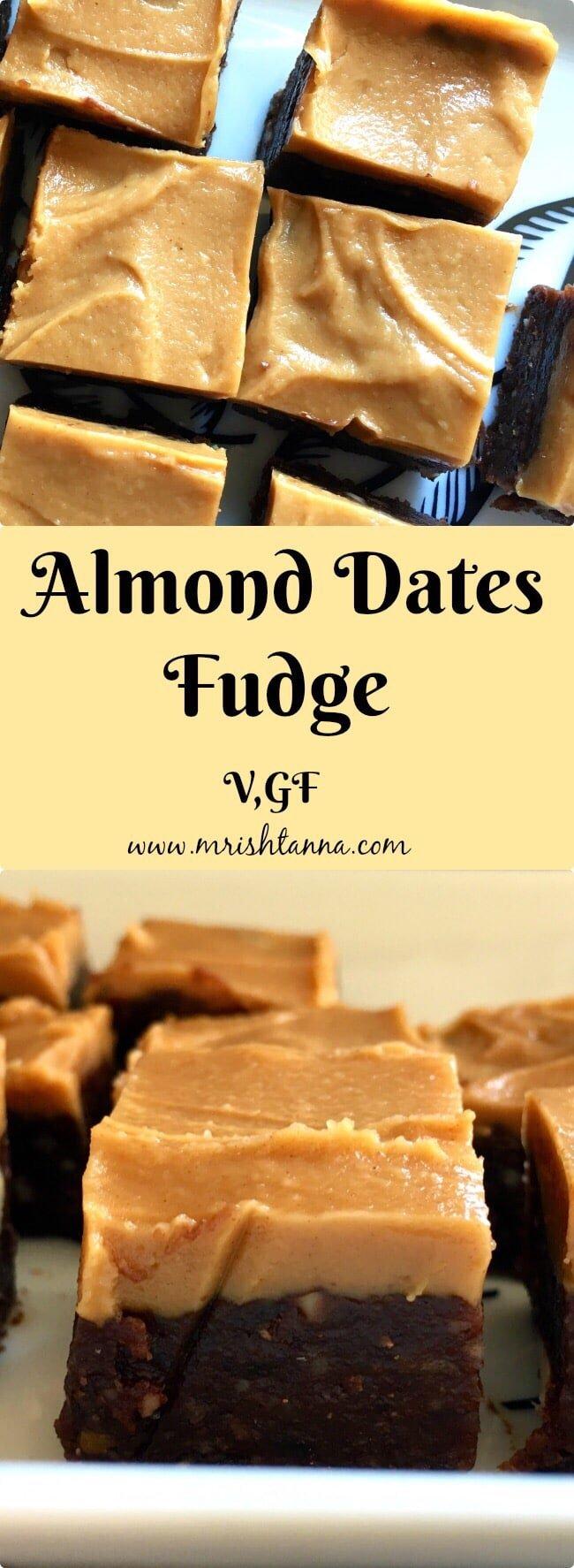Almond Dates Fudge