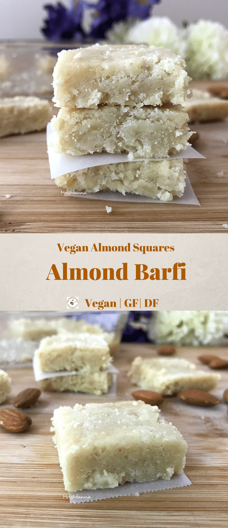 Almond and Barfi