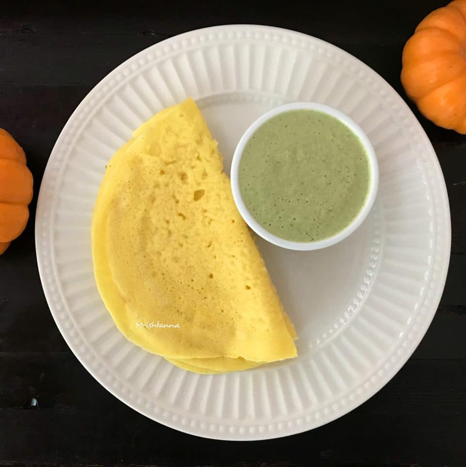 Fresh Pumpkin Dosa