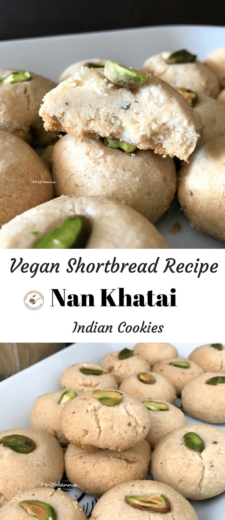 Vegan Shortbread (Nan Khatai) Recipe