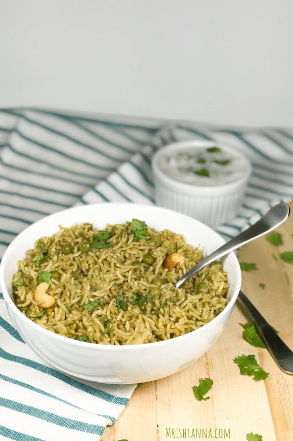 Instant Pot Peas Rice