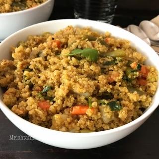 Instant Pot Vegetable Quinoa