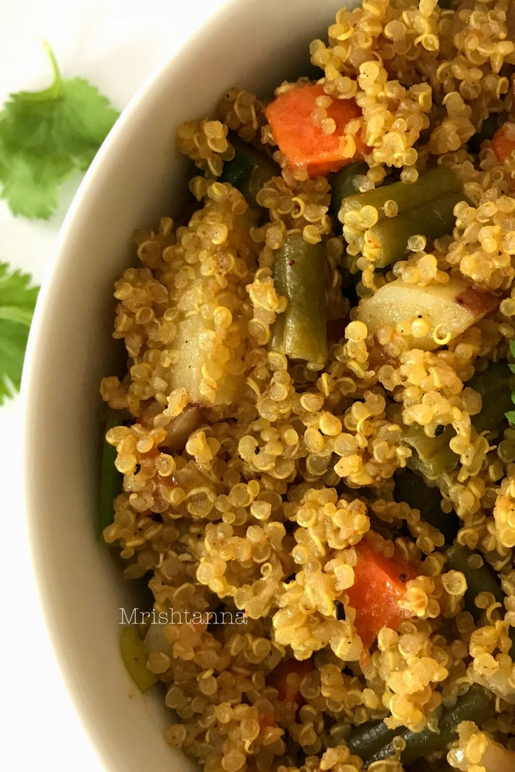 Instant Pot Vegetable Quinoa
