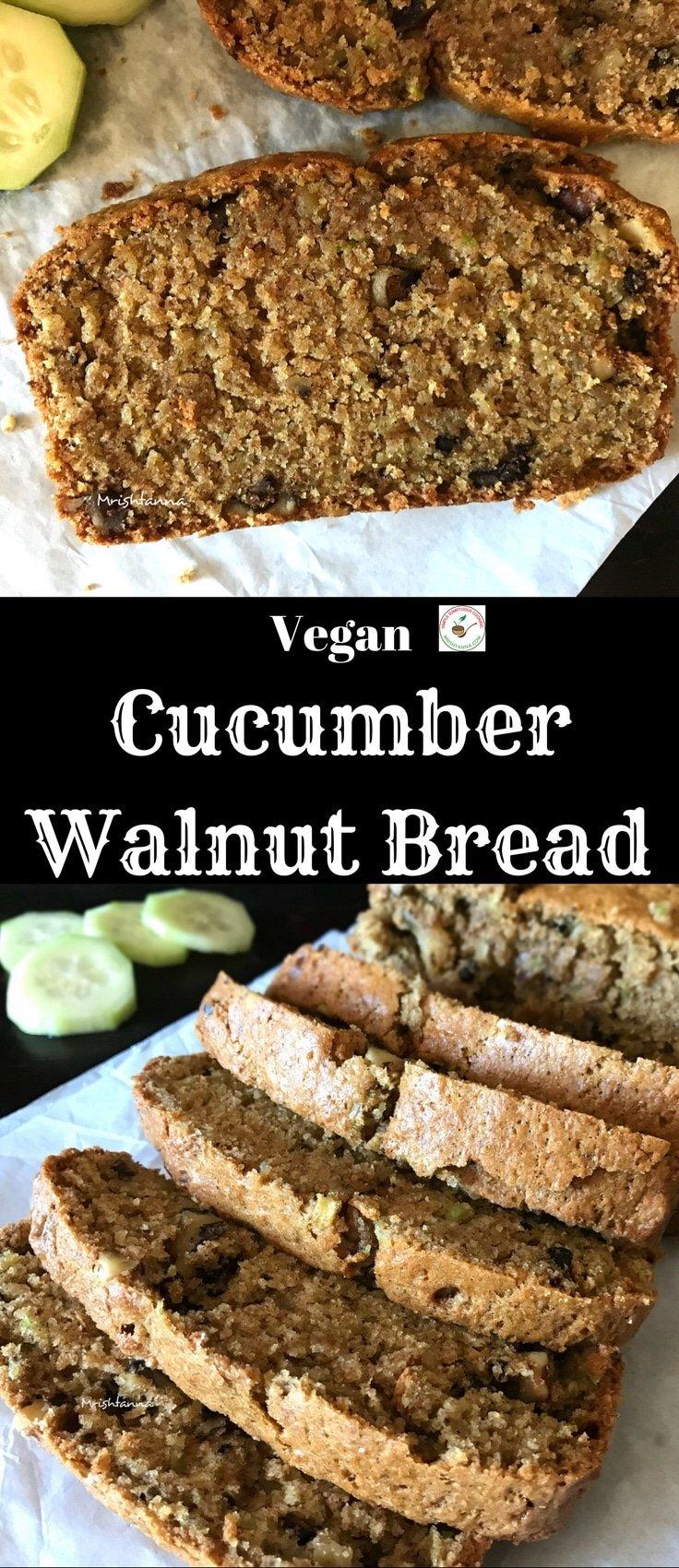 Cucumber Walnut Bread