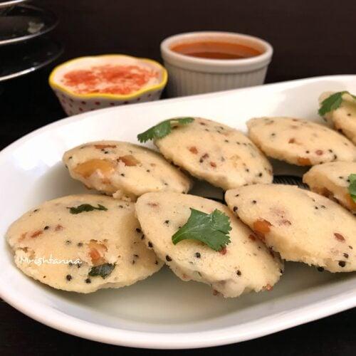 Quick Rava Idli - Instant Pot Savory Rice Cakes