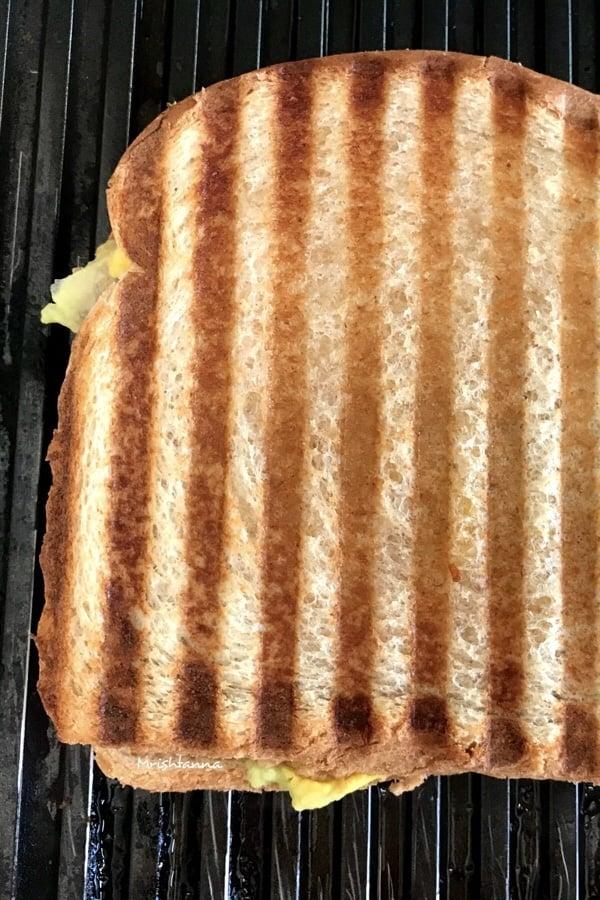 Avocado Ranch Panini Sandwich