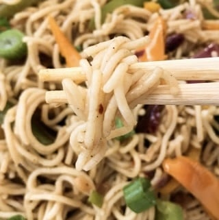 Spicy Vegan Rice Noodles