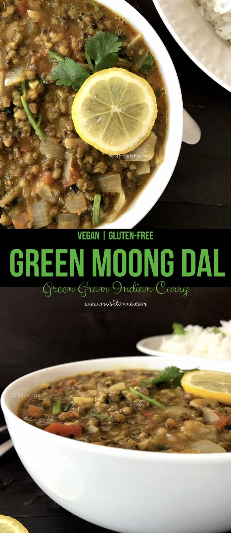 Green Moong Dal - Green Gram Dal Recipe