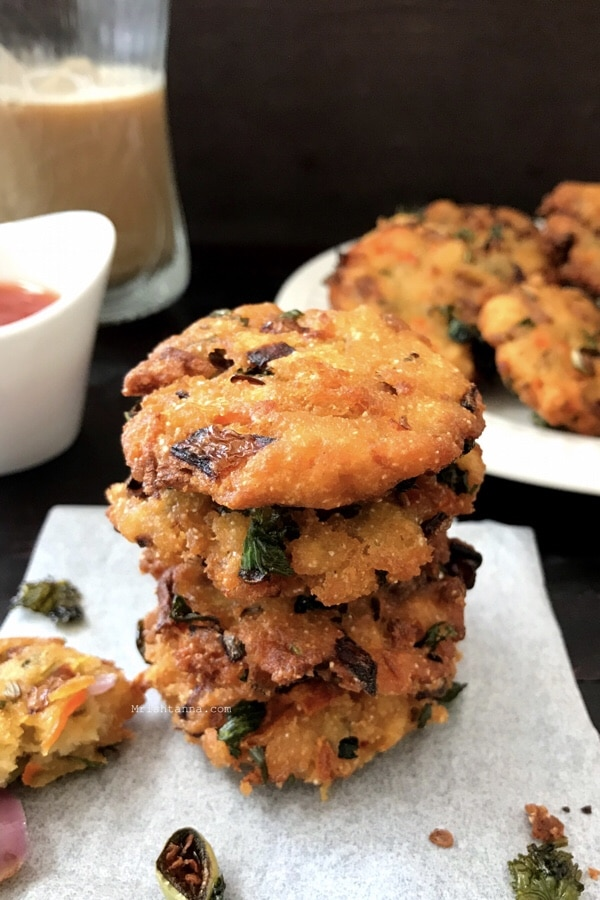Crispy Bread Vada Recipe