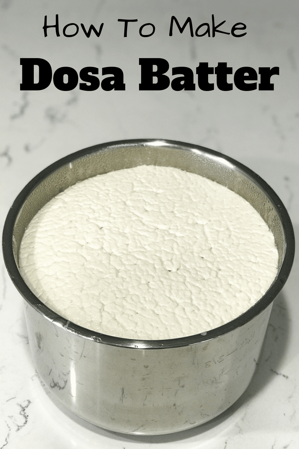 Dosa and Batter