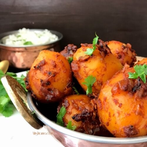 Lip Smacking Masala Potatoes