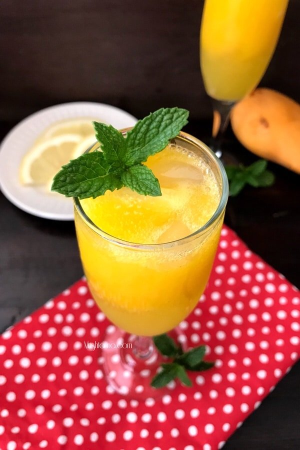 Mango Ginger Mocktail