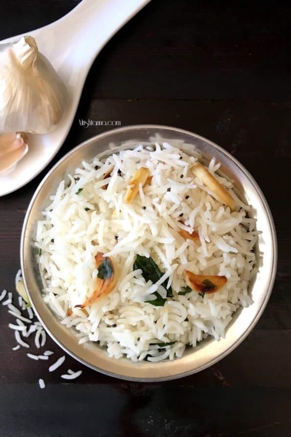 Indian Garlic Rice