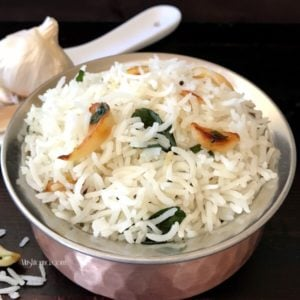 Indian Garlic Rice