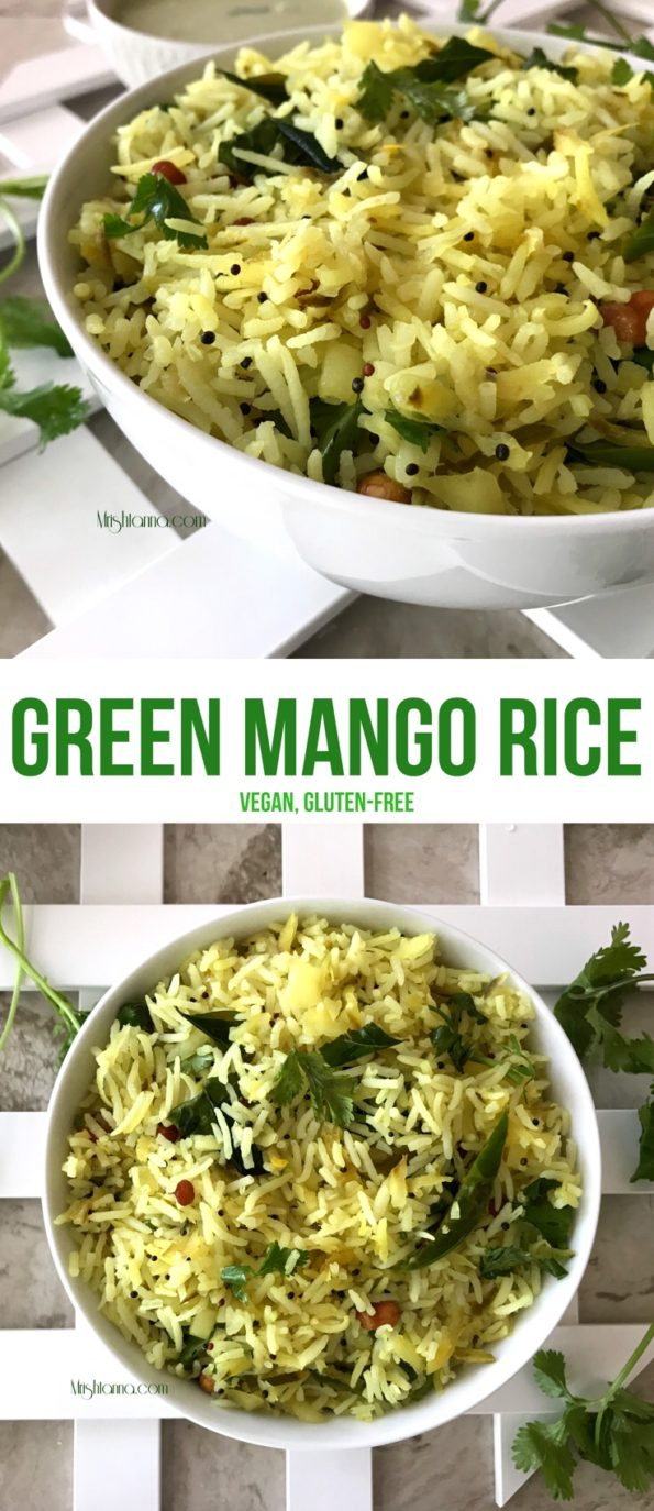 Green Mango Rice Recipe