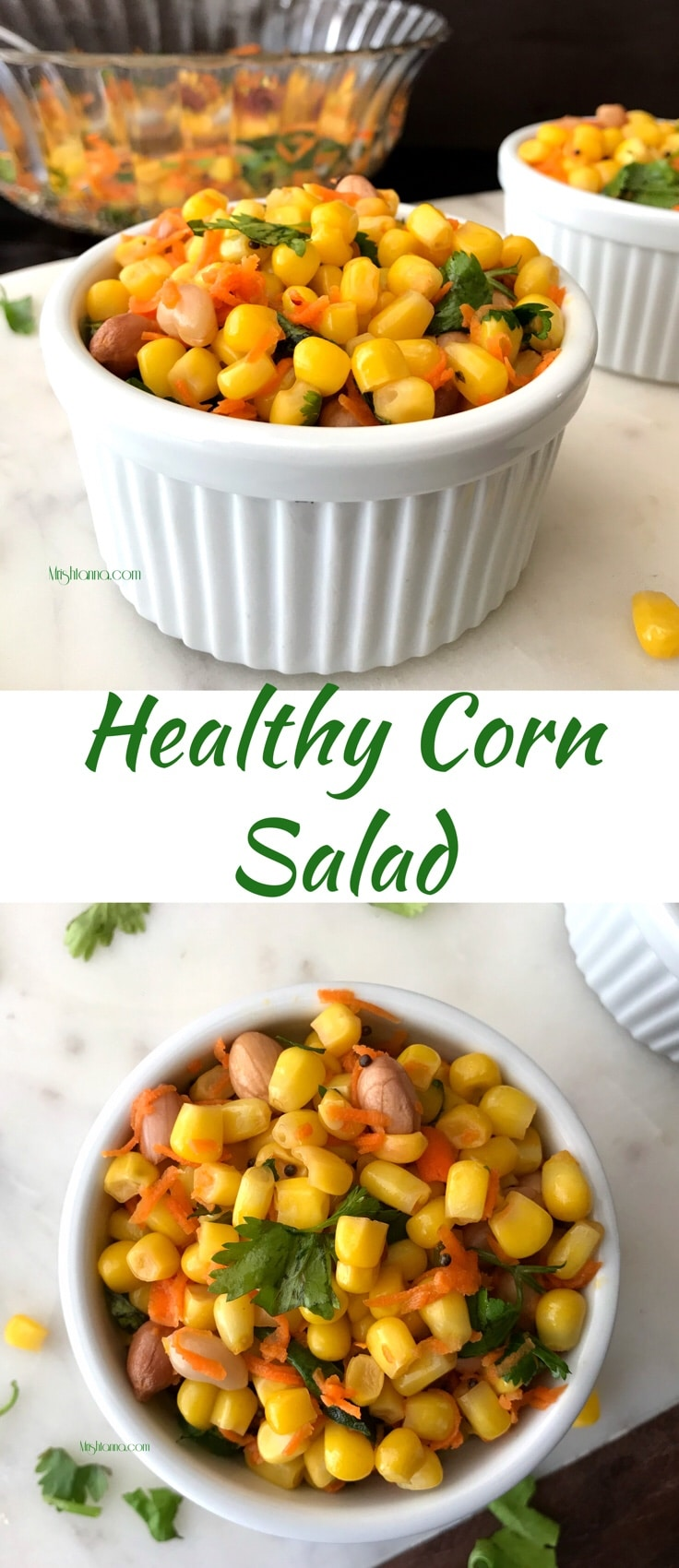Healthy Corn Salad