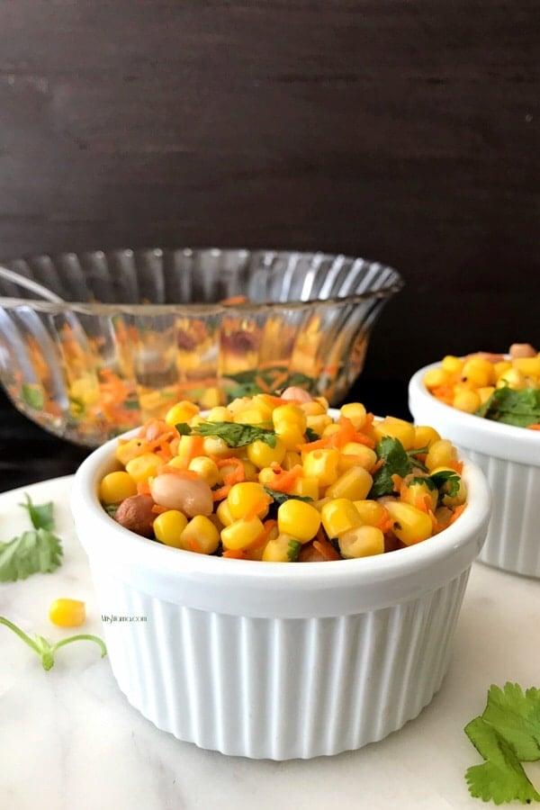 Healthy Corn Salad - Simple Sumptuous Cooking