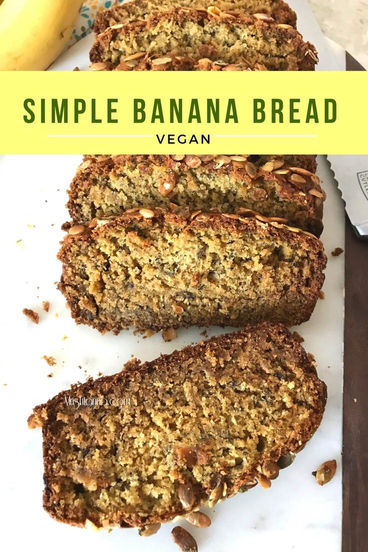 Simple Vegan Banana Bread