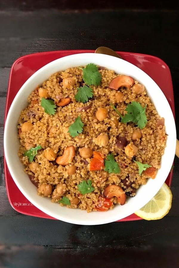 Spicy Channa Quinoa