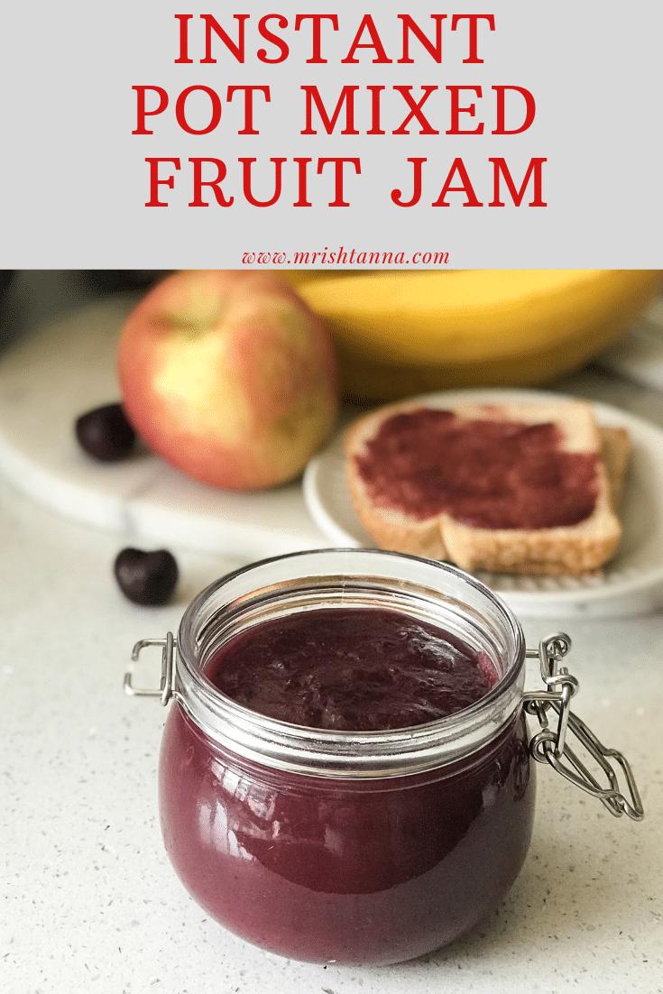 Instant Pot Jam Recipe