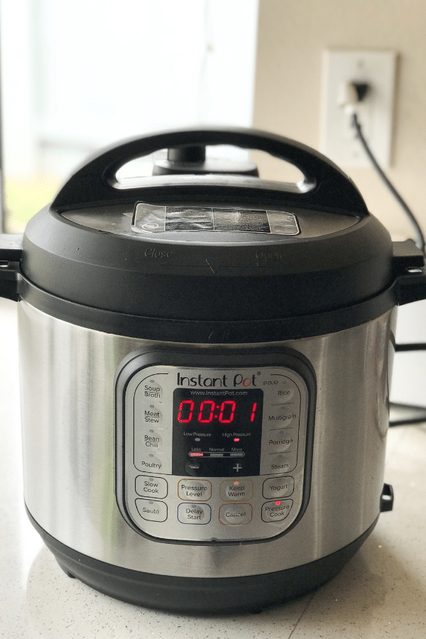 Instant Pot Is Plugged In