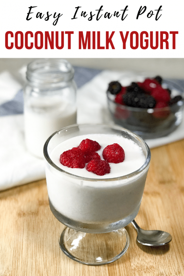 Instant Pot Coconut Milk Yogurt