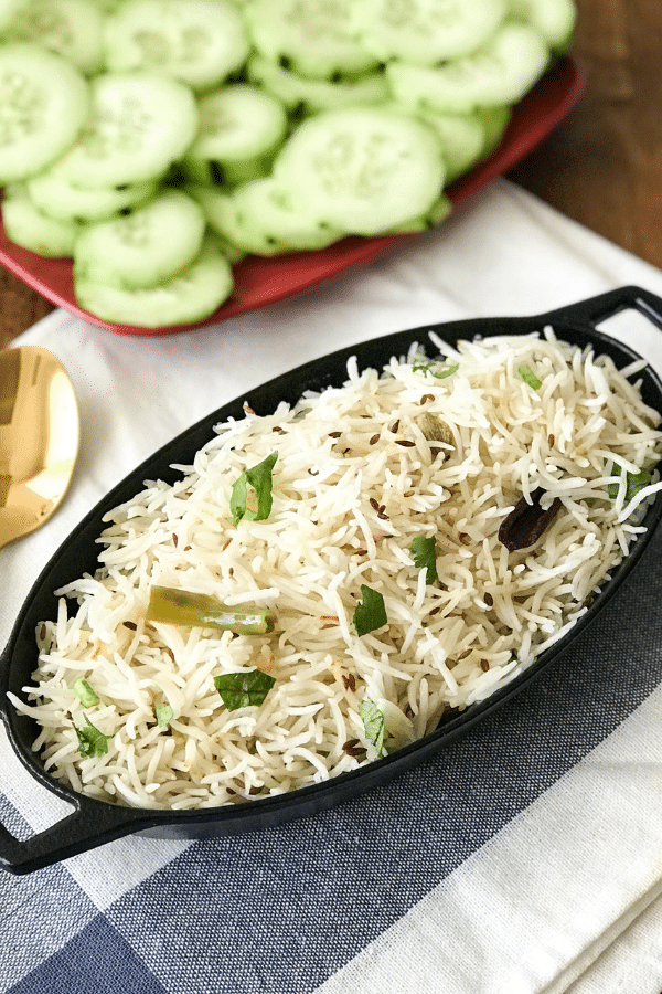 Instant Pot Cumin Rice