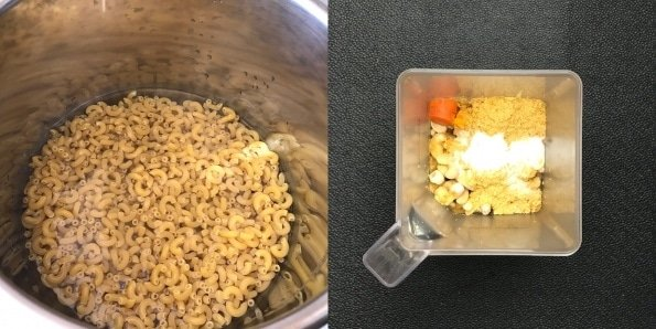 A bowl of food, with Cheese