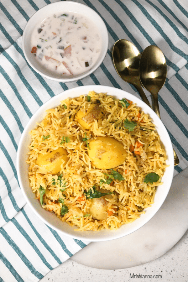 Aloo Biryani - Instant Pot
