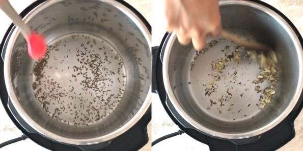 Instant Pot Potato & Peas curry
