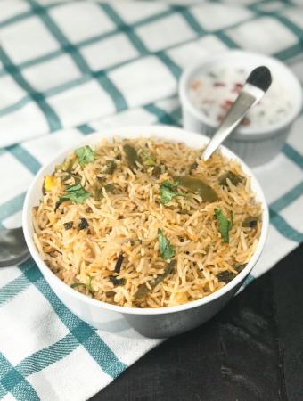 Instant Pot Bell Pepper Rice