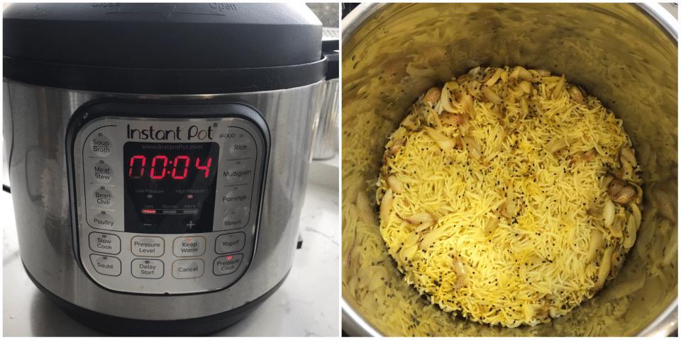 Rice and Garlic