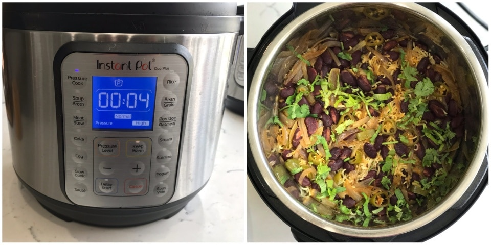 Instant pot Kidney Beans Rice