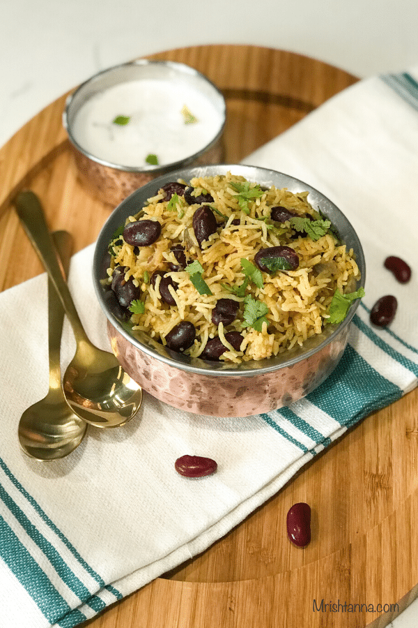 Rajma Rice - Instant Pot