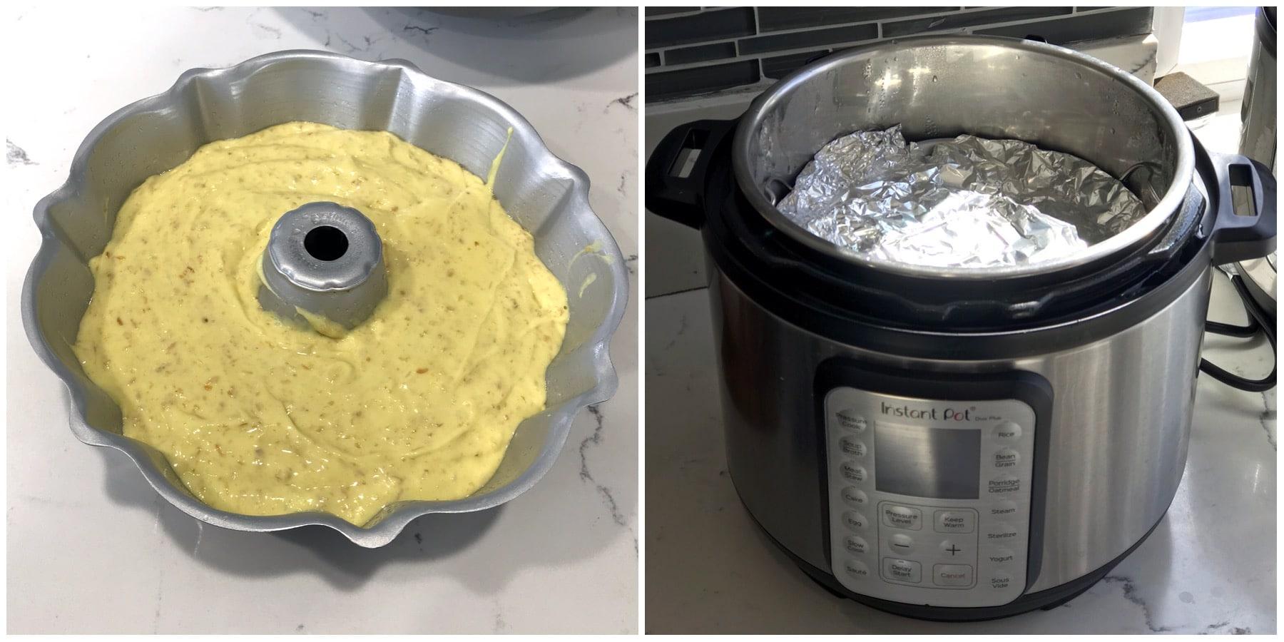 Cake and Lemon