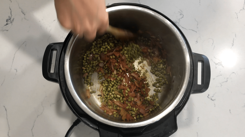 Instant pot and moong dal